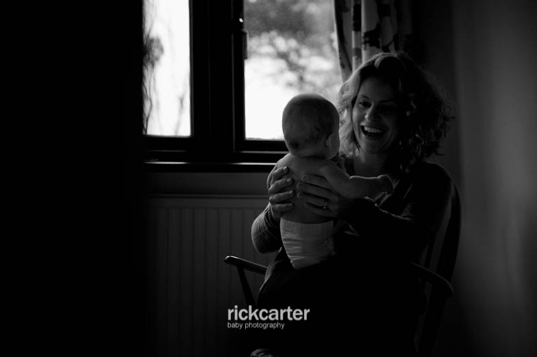 Candid In your own Home Baby Photography