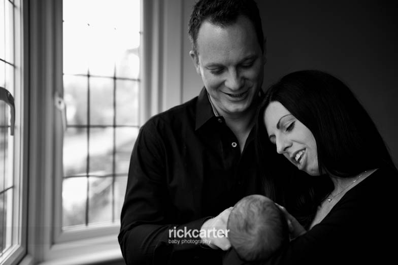 Relaxed Family and Baby Photography