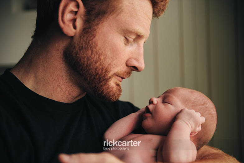 Relaxed Natural Baby Photography