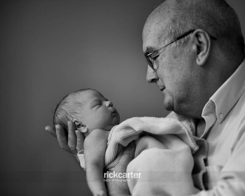 Relaxed Natural Newborn Baby Photography, Kent