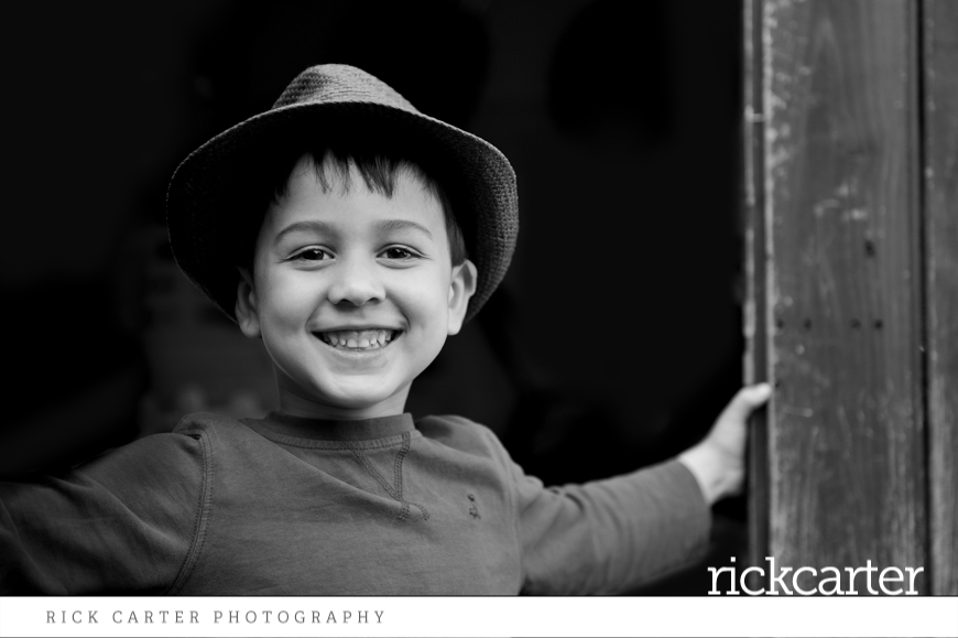 Relaxed Child Photography