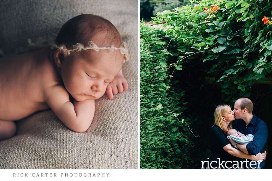 natural newborn at home photography
